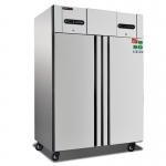 COOLMES冰立方风冷双温冰箱GN1.2DT 风冷无霜冷冻冷藏柜 大二门高身雪柜