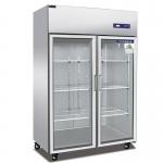 睿弘大二门冷藏冰箱BS1.0G2 陈列冷藏展示柜 双门点菜展示柜