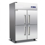 睿弘四门冰箱BR4 不锈钢四门冷藏柜 不锈钢四门冰箱 商用厨房冷柜