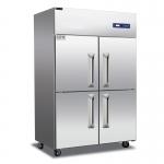 睿弘四门冷冻柜BF4 不锈钢四门冷冻冰箱 商用厨房冷柜 四门全冷冻冰箱
