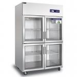 睿弘四门冷藏展示柜BS1.0G4 四玻璃门冷藏冰箱