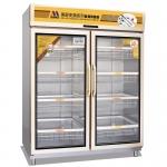 美厨餐具消毒柜BP-2 五星变频系列消毒柜 双门紫外线臭氧消毒柜 中温热风循环烘干餐具消毒柜