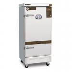 美厨蒸饭车MCKZ-H12 单门电蒸箱12盘电热蒸汽两用蒸饭柜蒸包机