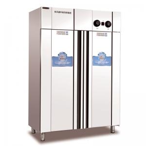 美厨消毒柜MC-2 双门高温热风循环消毒柜 不锈钢箱体 商用双门消毒柜 餐具消毒柜