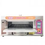 新南方不锈钢一层两盘燃气烤箱YXY-20A 商用燃气烤箱 蛋糕烤箱
