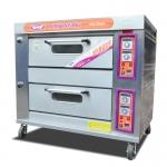 新南方双层四盘燃气烤箱YXY-40A 商用面包蛋糕披萨炉双层燃气烤炉
