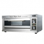 祥兴一层二盘电烤箱  商用一层两盘电烤箱