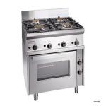 扎努西ZANUSSI SCFGE700 (285770) 落地型燃气四头炉联电烤箱