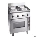 扎努西ZANUSSI SCFE700 (285770) 落地型电四头炉联电烤箱