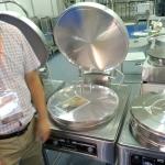 京明华YCD45A-K电饼铛 双温双控自动恒温烙饼机 380V工程款电饼铛铝铛