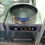 京明华YCD30D-K煎包铛 单温单控自动恒温电饼铛 380V烙饼机