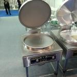 京明华YCD45A-K电饼铛 双温双控自动恒温烙饼机 380V铁铝复合锅