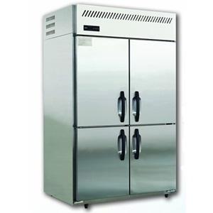 松下四门冰箱SRF-1581NC  松下四门冷冻柜 不锈钢四门直冷冷柜Panasonic商用厨房冰箱