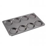 蒸烤箱煎鸡蛋烤盘 GN1/1不粘烤盘 八孔煎蛋烤盘 多功能煎烤盘
