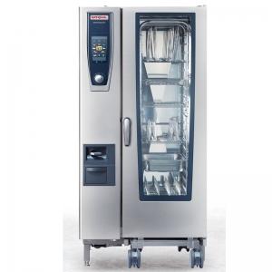 RATIONAL蒸烤箱SCC201G 乐信燃气20盘蒸烤箱 电脑版
