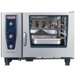 RATIONAL蒸烤箱CMP62G 乐信燃气蒸烤箱 半自动6层烤箱