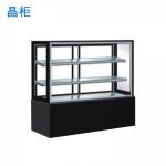 晶柜ZJH-900A直角蛋糕柜(带电热丝) 蛋糕冷藏展示柜