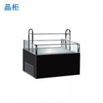 晶柜SMZ-1500A三明治柜(带电热丝)  三明治冷藏展示柜