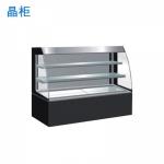 晶柜CK-1800A敞开式蛋糕柜(带电热丝) 蛋糕冷藏展示柜