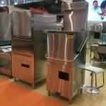 埃科菲揭盖式洗碗机 带热回收装置 提拉式商用洗碗机