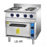 Chinducs/华磁电热四头圆炉连烤箱LE4-R