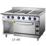 Chinducs/华磁 LF-6R六头煮食炉连下烤箱