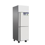 奥斯特立式二门双温冰箱TRF2 不锈钢上门冷冻柜下门冷藏柜