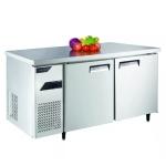 金松二门冰箱QB0.3L2U 平台冷冻  1.5米操作台冷柜 调理冷藏工作台