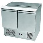 银都移盖沙拉台ESL3800 比萨冷藏工作台 二门操作台冷柜