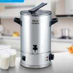 富伟吉祥凯众豪华型304#不锈钢 电热双层多功能豆浆桶 奶茶桶25L