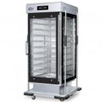 富伟吉祥多美多九层全透视玻璃保温餐车DMD-BWCC-9