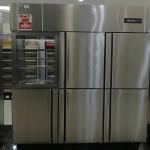冰立方六门全通冷冻柜定制 不锈钢六门冷冻冰箱 双通冷冻柜