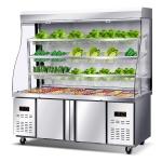 LIZE麻辣烫点菜柜定制 冷藏展示柜 串串点菜柜 冒菜点菜柜