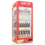 丽彩/LIZE红色饮料保温展示柜116L 热保温展示柜 饮料展示柜 超市饮料加热售卖展示柜