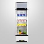 LIZE/丽彩保温冷热展示柜 饮料展示柜 单门牛奶咖啡冷藏加热两用柜