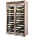 LIZE/丽彩双门红酒柜 二玻璃门红酒展示柜 红酒保鲜展示柜定制