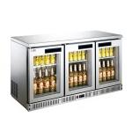 LIZE/丽彩三门吧台展示柜 三玻璃门酒水饮料展示柜