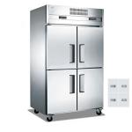 LIZE/丽彩四门冰箱 不锈钢四门冰柜 冷冻冷藏柜 商用厨房冰箱定制