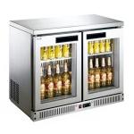 LIZE/丽彩二门酒吧展示柜  冷藏保鲜展示柜 饮品展示柜