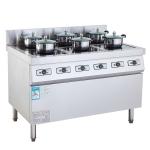 LIZE/丽彩六头电磁煲汤炉 商用电磁灶