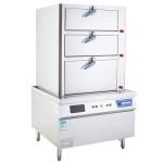LIZE商用电磁蒸柜 三门海鲜蒸柜