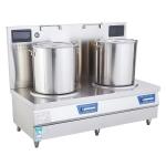 LIZE电磁双头电磁煲汤炉 大功率电磁低汤灶