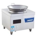 LZE电磁单头电磁凹面炉 简易电磁小炒炉 明档电磁小炒灶