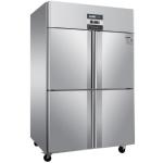 绿零四门双温冰箱SGC-1.0L4FS 风冷无霜冷冻冷藏柜 商用不锈钢四门冰柜