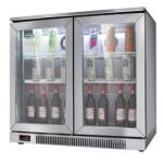 绿零吧台冷藏展示柜SGB-230L2F  酒水饮料展示柜 吧台冷柜
