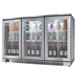 绿零吧台冷藏展示柜SGB-350L3F 风冷冷藏展示柜 酒水展示柜