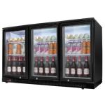 绿零吧台柜SHB-350L3F 三门酒水饮料展示柜