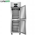 绿零上下门插盘冰箱SKC-0.5L2F 风冷烤盘冰箱