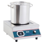 KAA/佳百年台式平头电磁炉5kw 商用电磁煲汤炉 单头电磁灶