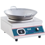 佳百年电磁炉 台式凹面炉5KW 电磁小炒炉 商用电磁炉 大功率电磁炉 KAA电磁厨房设备